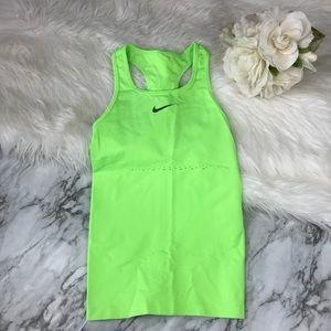 Nike | Neon Green Workout Racerback Tank